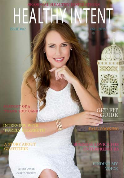 Healthy Intent Magazine Cover Issue 2 Fall 2015 small